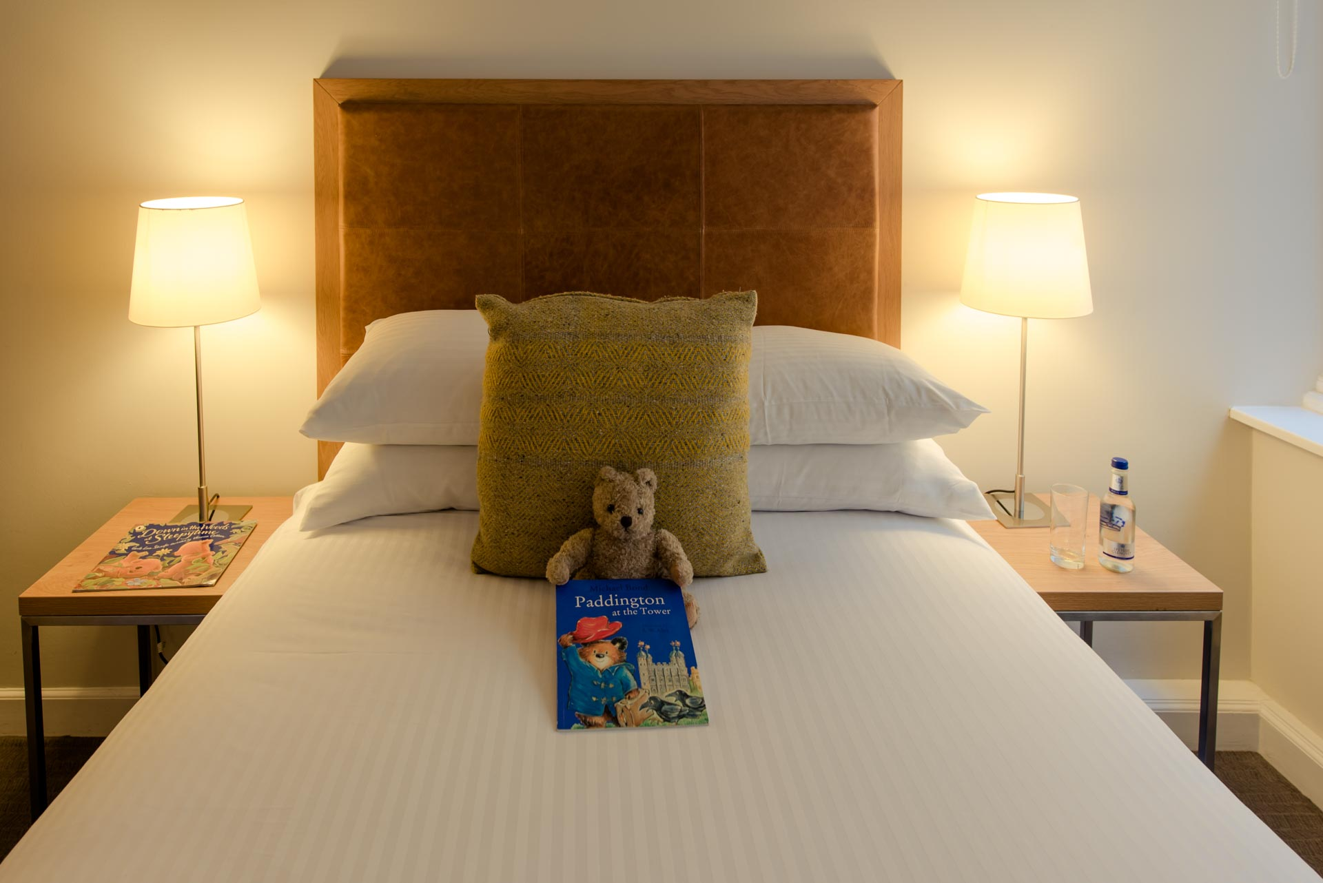 Children's book and teddy PREMIER SUITES PLUS Glasgow Bath Street
