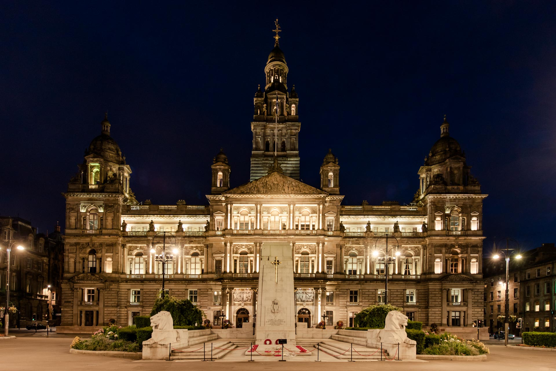 Glasgow City Chambers, George Square PREMIER SUITES PLUS Glasgow Bath Street